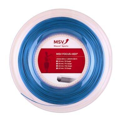 MSV Focus Hex hellblau 200 Meter Rolle