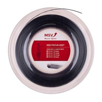 MSV Focus Hex schwarz 200 Meter Rolle