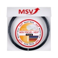 MSV Focus Hex Plus 38 schwarz Tennissaite