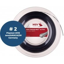 MSV Focus Hex Ultra schwarz 200 Meter Rolle