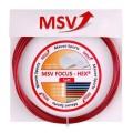 MSV Focus Hex Soft 1.25 rot Tennissaite