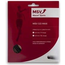 MSV Go Max schwarz Tennissaite