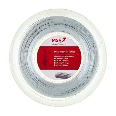 MSV Hepta Twist weiss 200 Meter Rolle