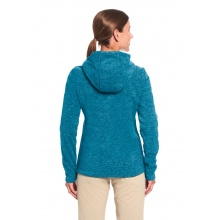 Maier Sports Fleecehoodie Hoy türkis Damen