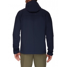 Mammut Softshelljacke Sapuen SO Hooded - 4-Wege-Stretch - 2021 marineblau Herren
