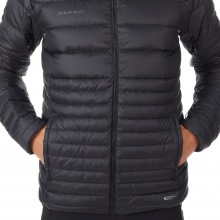 Mammut Winterjacke Convey IN Hooded schwarz Herren