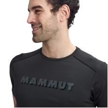 Mammut Tshirt Splide Logo 2020 schwarz Herren