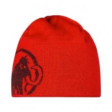 Mammut Mütze (Beanie) Logo (beidseitig tragbar) magma/merlot