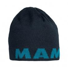 Mammut Mütze (Beanie) Logo (beidseitig tragbar) marine/sapphire