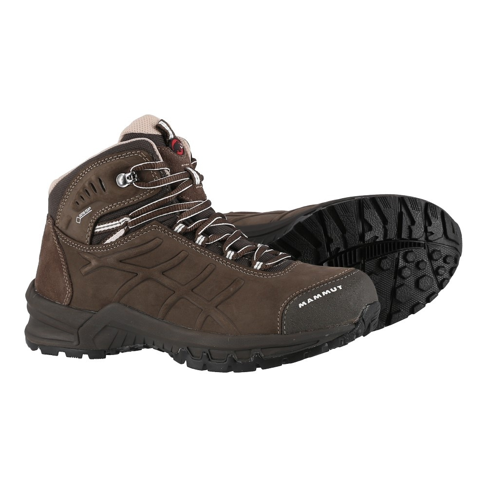 watch a4ed4 dc8bc Mammut Nova Mid 2 GTX bark Outdoorschuhe Damen ...