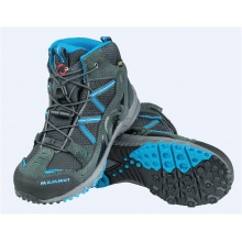 Mammut Nova Mid GTX 2016 graphite/atlantic Outdoorschuhe Kinder