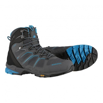 Mammut T Aenergy High GTX 2017 graphite/atlantic Outdoorschuhe Herren