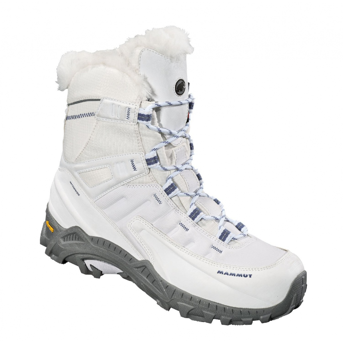 new product 2cfc3 0f669 Mammut Blackfin II High WP weiss Winterschuhe Damen