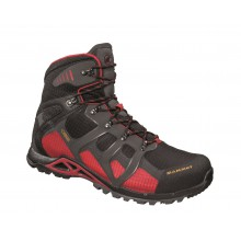 Mammut Comfort High GTX Surround schwarz/rot Outdoorschuhe Herren