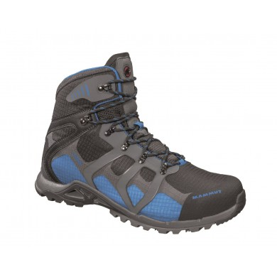 Mammut Comfort High GTX Surround graphite/blau Outdoorschuhe Herren
