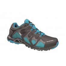 Mammut Comfort Low GTX Surround graphite/pacific Outdoorschuhe Damen