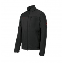 Mammut Outdoorjacke Ultimate graphite/schwarz Herren