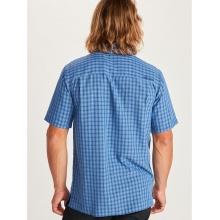 Marmot Reise-/Wanderhemd Eldridge kurzarm blau Herren