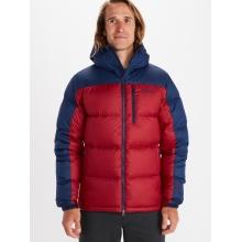 Marmot Winterjacke Guides Down Hoody rot/navy Herren