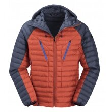 Maul Winter-/Steppjacke Kühtai orange/navy Herren
