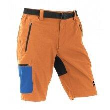 Maul Wander-Trekkinghose kurz Doldenhorn II russet orange/blau Herren