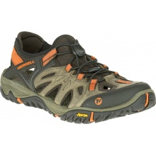 Merrell Allout Blaze Sieve hellbraun/orange Outdoorschuhe Herren