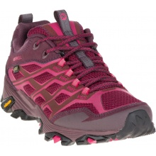 Merrell Moab FST Low GTX 2016 rot Outdoorschuhe Damen