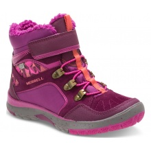 Merrell Moab Polar Mid Waterproof berry Outdoorschuhe Kinder