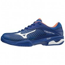 Mizuno Wave Exceed Tour 3 Clay 2019 blau Tennisschuhe Herren