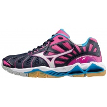 Mizuno Wave Tornado X 2017 peacoat/pink Volleyballschuhe Damen