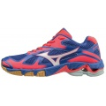 Mizuno Wave Bolt 5 2016 blau Indoorschuhe Damen