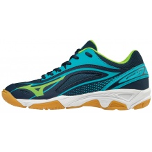 Mizuno Wave Mirage Star 2 2018 dunkelblau Indoorschuhe Kinder