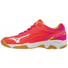 Mizuno Wave Mirage Star 2 2018 koralle Indoorchuhe Kinder