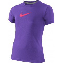 Nike Shirt Legend Power Graphic violett Girls