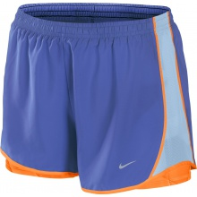Nike Short Tempo 3.5 2in1 blau Damen