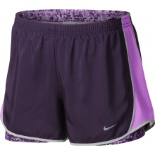 Nike Short Tempo 3.5 2-in-1 violett Damen