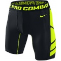 Nike Boxer Short Pro Combat Hypercool 2.0 schwarz/gelb Herren