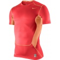 Nike Shirt Pro Combat Hypercool 2.0 rot Herren (Größe L)