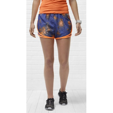 Nike Short Printed Tempo NEW blau Damen