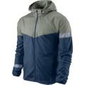 Nike Jacke Vapor grau/blau Herren