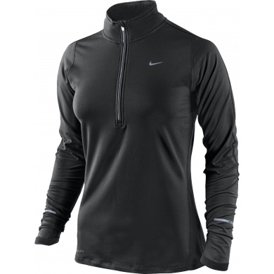 Nike Longsleeve Element Half-Zip schwarz 010 Damen