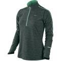 Nike Longsleeve Element Half-Zip grau/arctic 332 Damen
