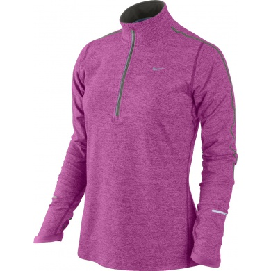 Nike Longsleeve Element Half-Zip rose 677 Damen