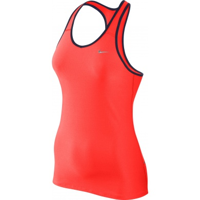 Nike Tank Shaping Long rot Damen