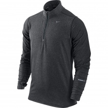 Nike Longsleeve Element Half-Zip anthrazit Herren
