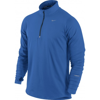 Nike Longsleeve Element Half-Zip royal Herren (Größe XL)