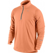 Nike Longsleeve Element Half-Zip orange Herren