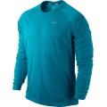 Nike Longsleeve Miler UV türkis 424 Herren (Größe XL)