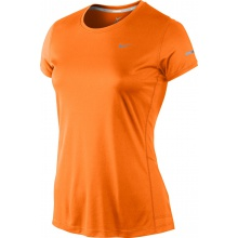 Nike Shirt Miler Crew orange Damen