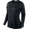 Nike Longsleeve Miler schwarz Damen (Größe XL)